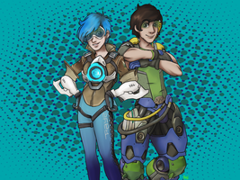 Overwatch dorks by loudtalan