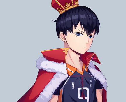 King of the Court - Kageyama Tobio by senapon