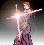 If Arica Had Lightsabers by Leppardra