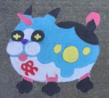 Chalk Meow Wow by pennywhistle444