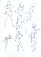 Holli Would, sketchs by NaTa91-83