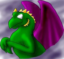 Rremly the Dragon by evilcarp