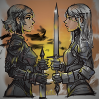Rivals by kherlee