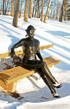 Latex and Tea in the Snow by Observer31