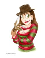 Female Freddy Kruegar by ArtofLaurieB
