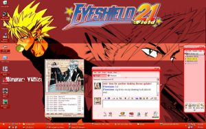 Eyeshield 21 desktop by J-Cleo