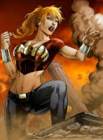 Wonder Girl by Seabra