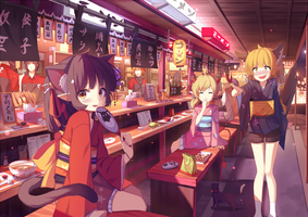 Bakeneko : Ramen Time ! by Riki-to