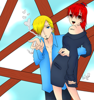 Sanji And Me by AlexaYaoiGirl