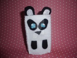 Panda iPod case ^.^ by Mandy-Lou-Plushies