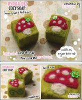 kyaaa.biz Cozy Soap Mushroom by shiricki