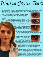 crying eyes tutorial by my-cinderella-makeup