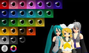 _MMD_ Eye pack 2 by xXHIMRXx