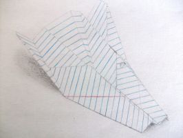 Plane Paper by ptBLANK