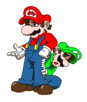 Its a we Mario bross by dragonfetus