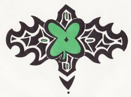 Tattoo Commish-4 Leaf Clover by kettish