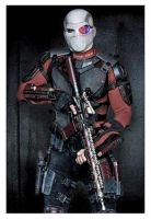 Will Smith as Deadshot First Look by HonorAmongScars