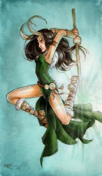 Lady Loki II by CaptBexx