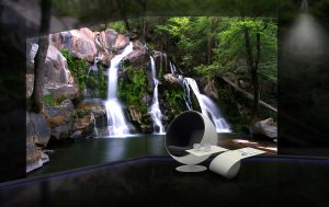 Waterfall futuristic by Gabrielx86