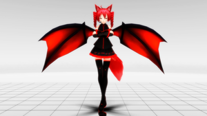 [MMD] ataC's Kasane Teto (Mikoto Moonfox edit) by iMACobra