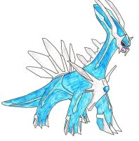 483- Dialga (Old art) by FrostedIcefire