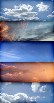 5 free cg sky textures by kropped