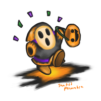 Halloween Shy Guy by ShadedPenumbra