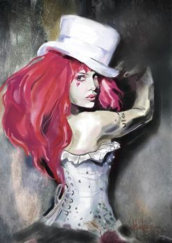 Emilie Autumn by Tavra