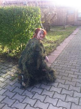 Ghillie Suit 3 by Bloodsgirl12