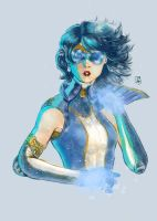 Sailor Mercury by AdryLavi