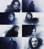 Jon Snow by iseefireflies