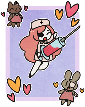 Nurse to the Rescue! by BonbonBox