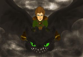 Come at me bro - Hiccup and Toothless by ChoFrog09