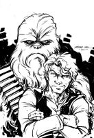Bring me Solo and the Wookie by mariocau