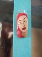 face on nail 2 by E-salbeinit