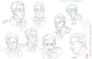 Ernest Sketches by EclecticConcierge