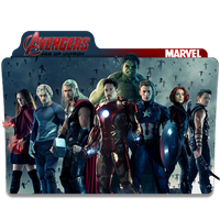 Avengers Age of Ultron Folder Icons by Nialixus