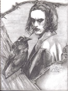 'The Crow' Brandon Lee by redninja