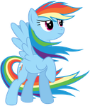 Rainbow Dash - Colors of the wind by Stabzor