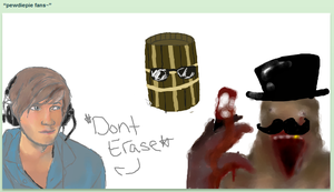pewdie iscribble by xXEmilyLoveXx