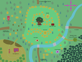 Ponyville Map by Tornado5000170