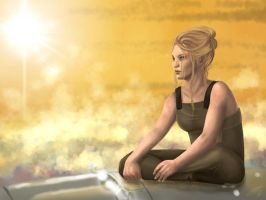 Mass Effect: Downtime by AlanaKai