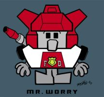 2. Mr. Worry by hiredhand