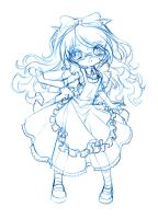 alice... sketch by sureya