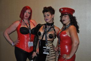 3 Hoties at FetCon 2014 by enonorez