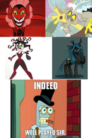 Well played Lauren Faust, Well played indeed by Discord-Drocsid