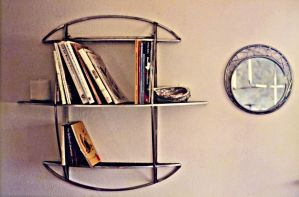 Eliptical Wall Shelf by ou8nrtist2