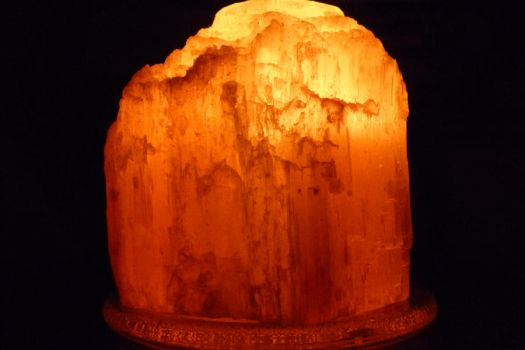 Himalayan Salt Candle Holder by Bluey2910