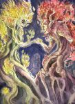 Dance of the Dryads by tomato-bird
