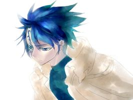 dooble Jellal in fairy tail by amberely